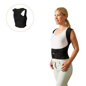 Wearing the Posture Position Back Brace
