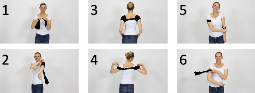 how to put on your swedish posture flexi