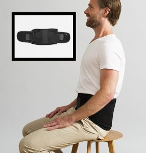 Posture stabilise lower back support