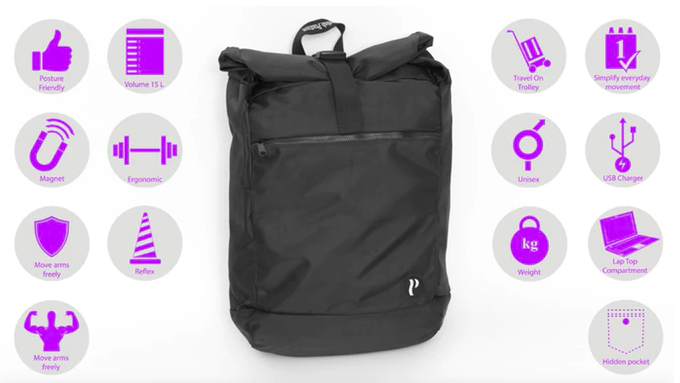 Features of the Swedish Posture Backpack