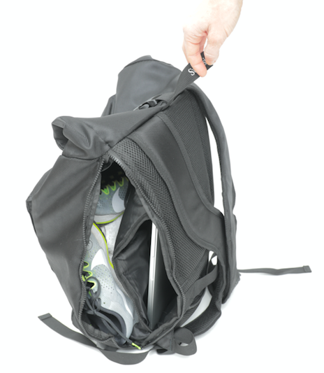 Inside the posture backpack