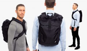 Wearing the posture backpack