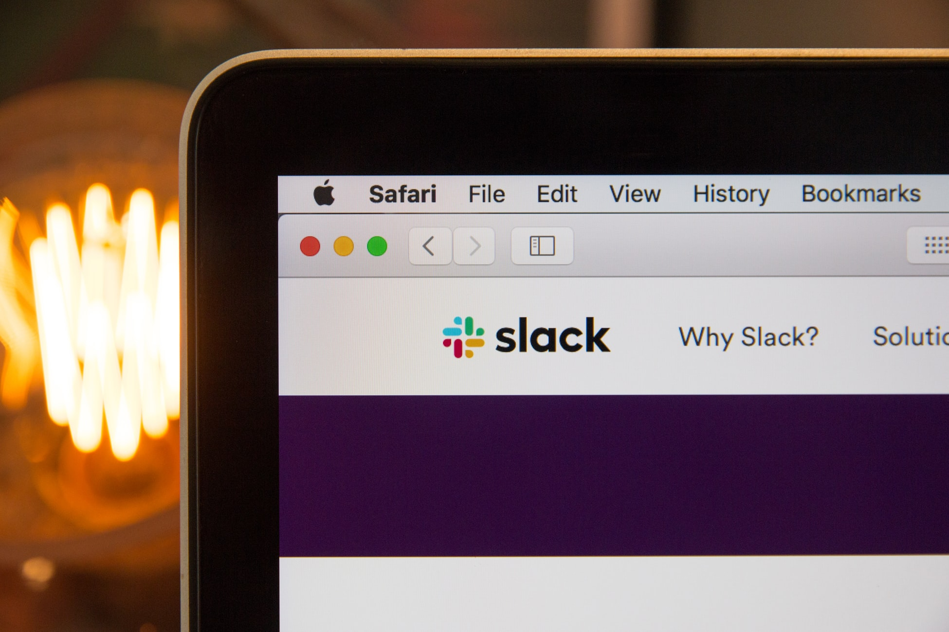 Slack team communication when working from home